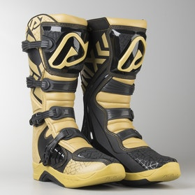 Acerbis X-Team MX Boots Gold-White