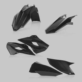 Acerbis Husqvarna Plastic Kit Black