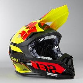 Just1 J32 Pro Kick MX Helmet Black-Red-Yellow