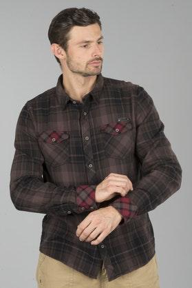 Brandit Checkshirt Duncan Shirt - Brown-Black